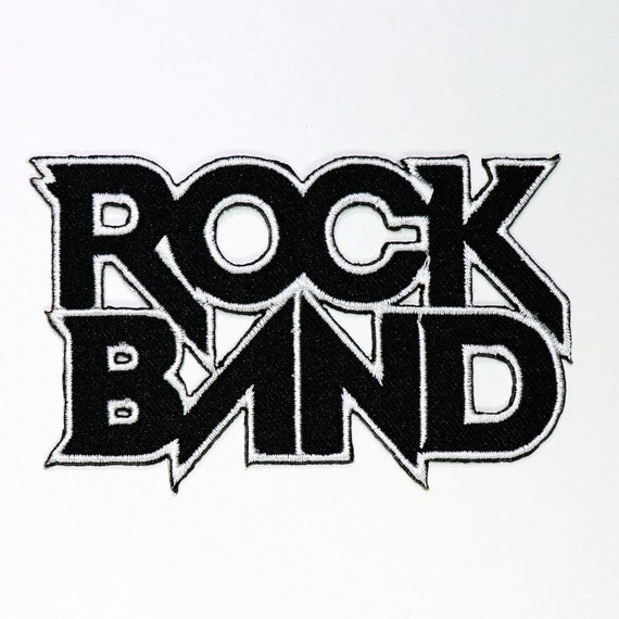 Rock Band Patch Heavy Metal Hard Rock Music Punk Sign Symbol Tag