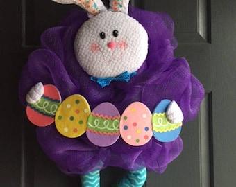 Easter Bunny Wreath, Easter, Wreath, Easter Egg, Bunny
