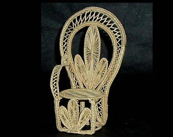 MINIATURE RATTAN CHAIR
