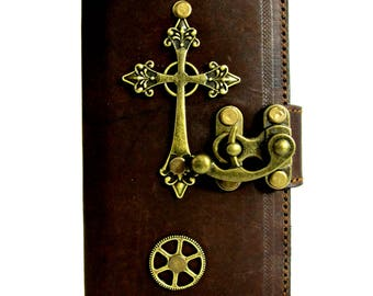 iphone 7 leather cover case cross