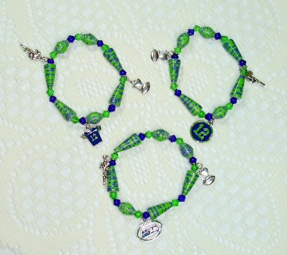 handmade jewelry seattle paper bead bracelets handmade jewelry set of 3 seattle 6309