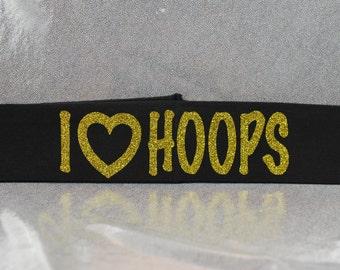 I Heart Hoops Headband