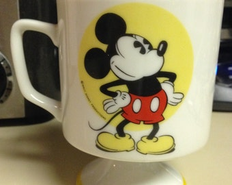 Mickey Mouse Pedestal Coffee Mug