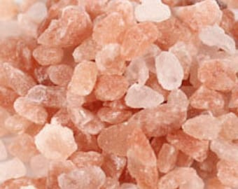 Pink Himalayan Salt/Apothecary Salt/ Magical Herbs/Pure Salts/Pagan Supply/Witchcraft Supply/Soap aMaking/Candle Making/Pink Halite