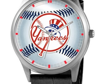 Personalized watch with the Yankees New York, Custom watch