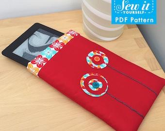 Poppy Kindle case PDF Pattern