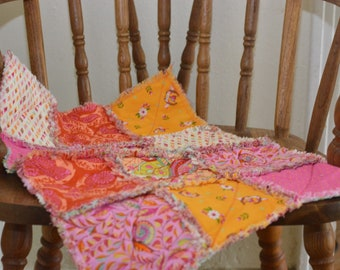 Tula Pink Rag Quilt Lovey