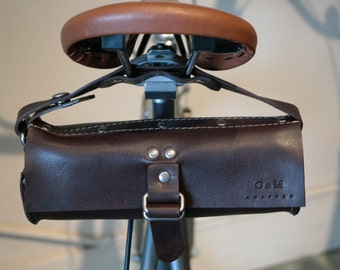 Leather Bicycle Pouch