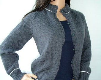 Twilight eclipse inspired grey cardigan - Ready to ship