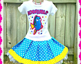 girls Finding Dory Nemo dress last one ready to ship 5