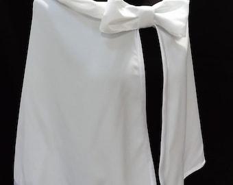 bridal cape , white cape , bridal capelet ,bridal cover up