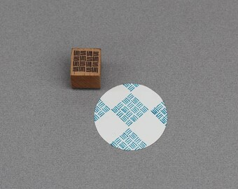 Stamp Rug Grid