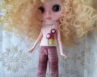 """Outfit for Blythe doll """"Flower"""""""