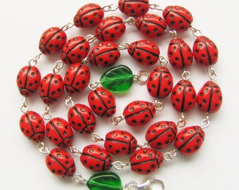 Necklace Ladybugs are here