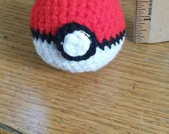 Stuffed pokeball