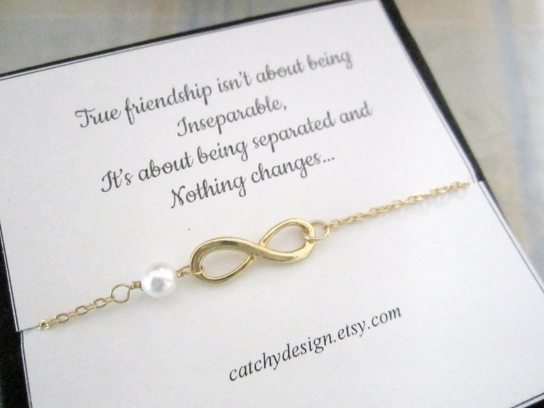 infinity armband mit freundschaft zitat besten freund. Black Bedroom Furniture Sets. Home Design Ideas