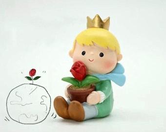 The Little Prince mini figure E - Plant topper, desk / car decoration
