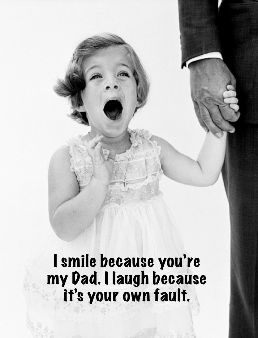 Funny fathers day card hilarious humorous retro zoom bookmarktalkfo Image collections