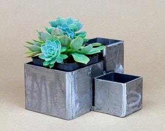 Three Pipe Modern Planter