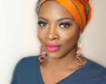 African head wrap, African clothing, African fabric, African headwrap, Ankara head wrap, Ankara fabric, African head scarf, Vlisco fabric