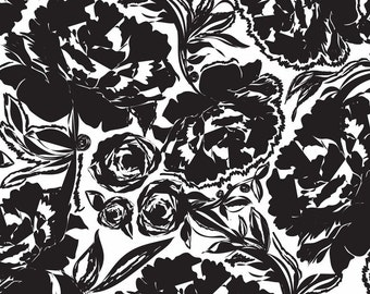 Arianna Black (118.101.03.1) - Modern Eclectic Collection by Khristian Howell - Blend Fabrics - 1 yard