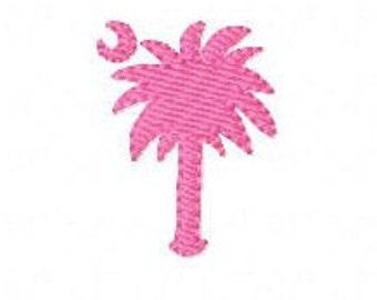 Embroidery Design, South Carolina Palmetto Moon Mini Machine Embroidery Single Design // Joyful Stitches