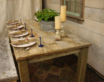 Dining Room Table Driftwood 72L X 34W 30 Or