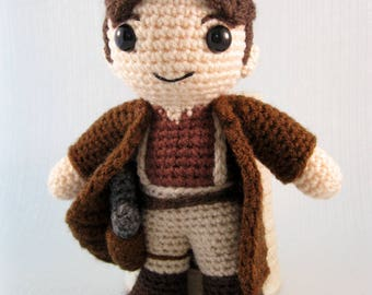 Captain Mal Reynolds - Firefly Amigurumi Pattern PDF - Crochet Pattern