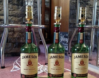 Customizable Liquor Bottle Lamp  You Pick The Bottle
