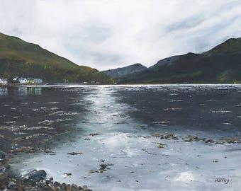 Scottish Landscape Loch Long Print Arrochar Scotland Glasgow Artist