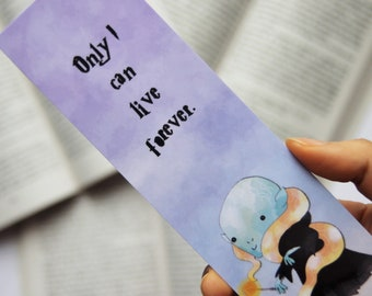 Lord Voldemort paper bookmark | Tom Riddle