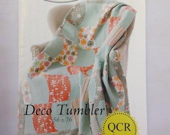 QCR Pattern-Deco Tumbler Quilt Pattern