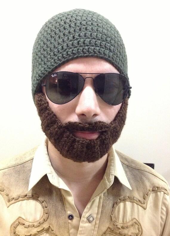 Items Similar To Crochet Beard Hat For Men Women Kids