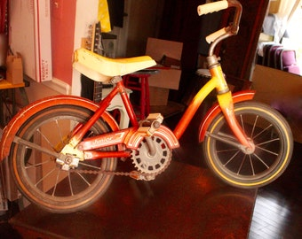 Tiny Vintage bike!  AMF Junior, cute!