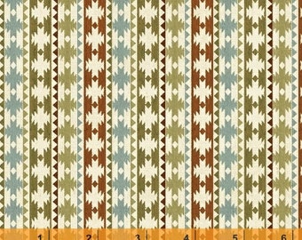 Wild Woods - Native Stripe by Daphne Brissonnet from Windham Fabrics