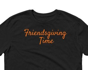 Friendsgiving Shirt, Happy Friendsgiving, Thanksgiving, Sleeve T-Shirt
