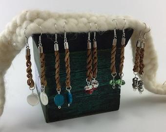 Cedar Bark Earrings