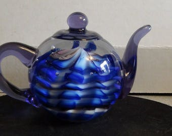 teapot paperweight vintage