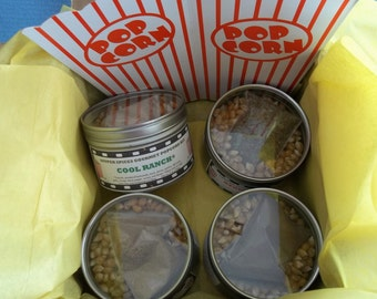 Popcorn Seasoning, Popcorn Gift Set, Popcorn Flavor, Gourmet Popcorn Mix, Popcorn Mix, Mothers Day, Fathers Day, Gift for Him, Salt Free