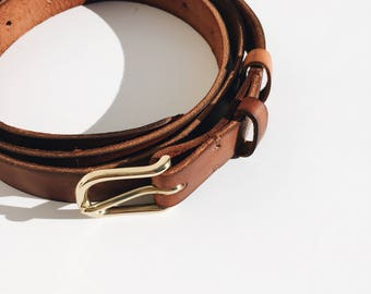 The No. 1 Leather Belt (free shipping)