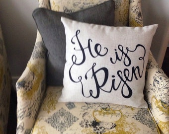 He is risen pillow cover-43 color options