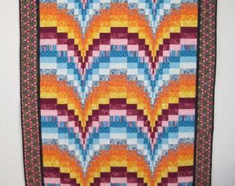 Lap Size Bargello Quilt