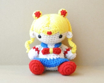 Sailor Moon   Amigurumi Doll   READY TO SHIP