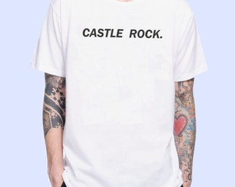 Castle Rock Word Castle Rock Tv Series Inspired. Male and Female T-shirt
