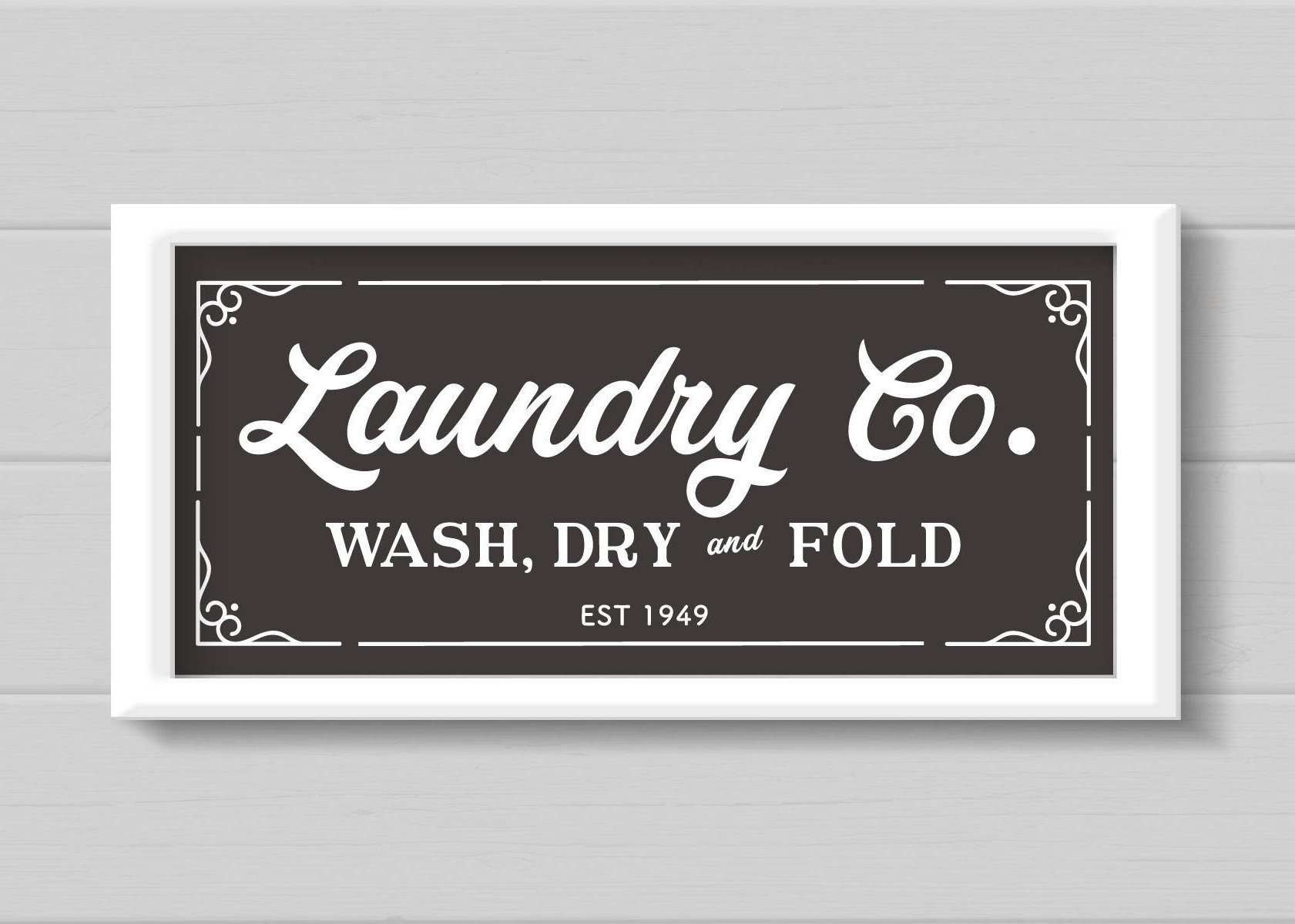 Laundry And Co Sign Laundry Svg Laundry Room Sign Magnolia Farms Svg Rustic