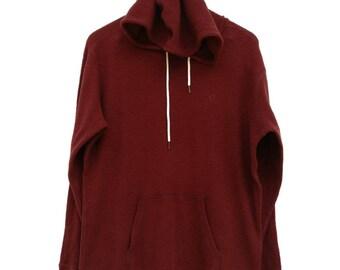 Vintage Hang Ten Gold Hoodies Jumper Sweatshirt Pullover Medium Size