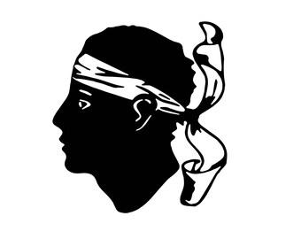 full-bodied special stickers... Moorish head
