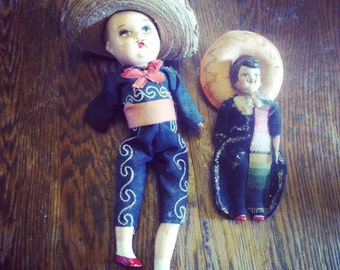 Two Mariachi Dolls