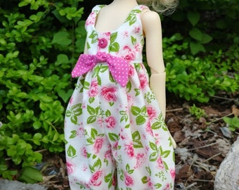 "ROSEY  SUNSUIT  made to fit 14"" Mini Layla/Laryssa Kaye Wiggs  by Darla"