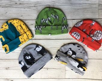Organic Jersey Baby Hats